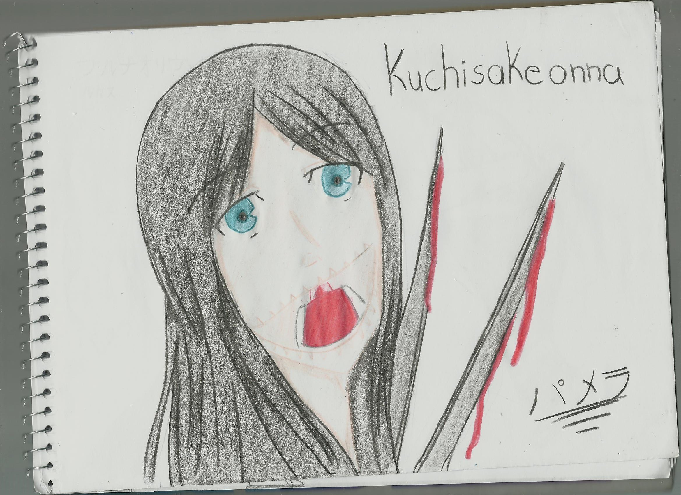 Desenhos De Animes De Terror Para Desenhar Mmod