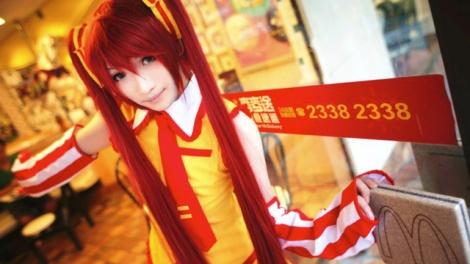 Cosplay-ronald-mac-Mc-Donald-mignonne-chinoise-cosplayeuse-anime-manga-tv-streaming-legal-gratuit-03